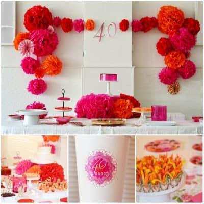 40th Birthday Party Idea