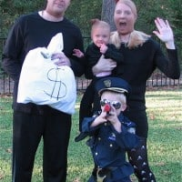 Cops and Robbers DIY Halloween Costume - Homemade Halloween Costume Ideas