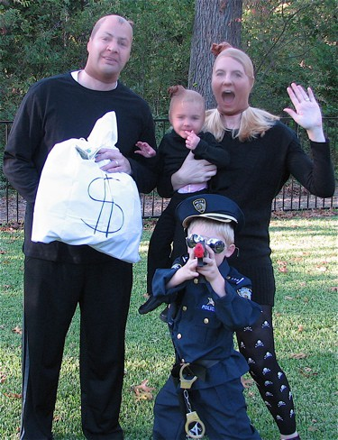 Cops and Robbers  DIY Halloween Costume