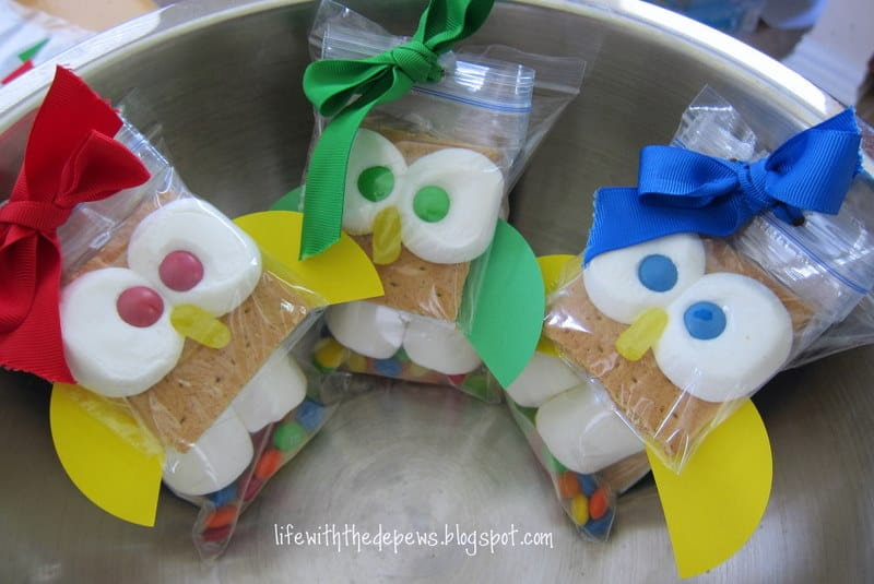 Savings School: Such A Cute Treat... They Are A Hoot