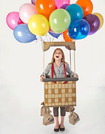 Hot Air balloon Halloween costume