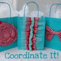Fabric Easy Sew Gift Bags