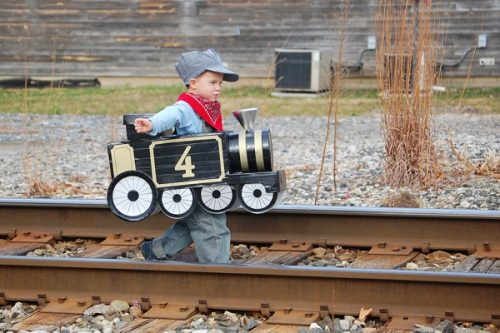 Train DIY Halloween Costume