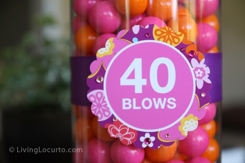 40 Blows Birthday Sign