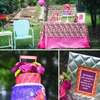 40th Birthday Outdoor Garden Party Ideas