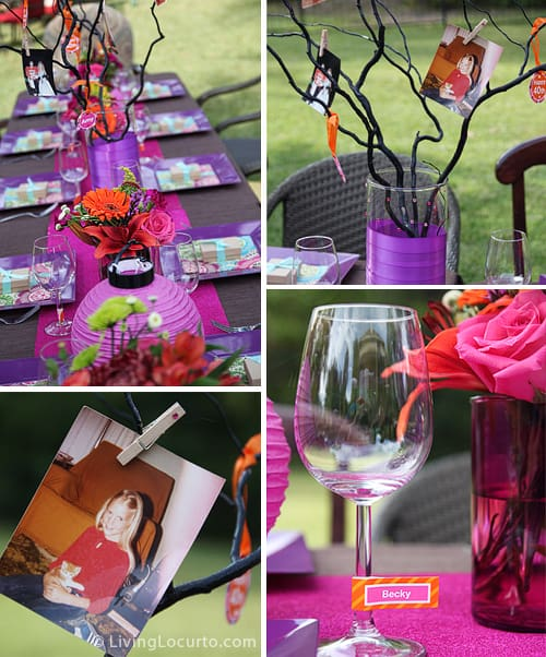 40th Birthday Party Ideas Beautiful Outdoor And Printables LivingLocurto