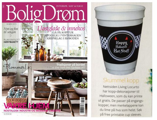Bolig Drom Magazine Feature - Press Amy Locurto