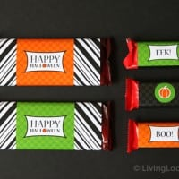 Free Party Printable Halloween Candy Bar Wrappers
