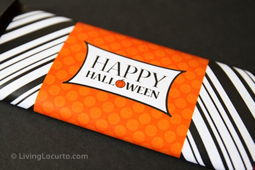 Free Printable Halloween Candy Bar Label