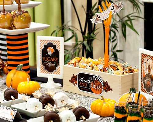 10 free printables for a halloween party - Free Printables For Halloween