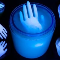 Glowing Hand Halloween Punch