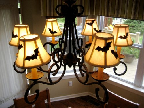 Halloween Lamp Shade Craft