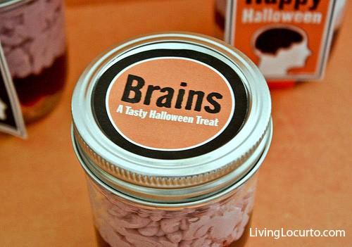 Brains in a Jar Cake Recipe | Creepy Halloween Food Idea