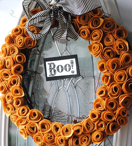 Halloween Wreath Craft
