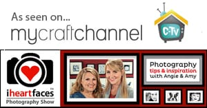 My Craft Channel- I Heart Faces Photography Show