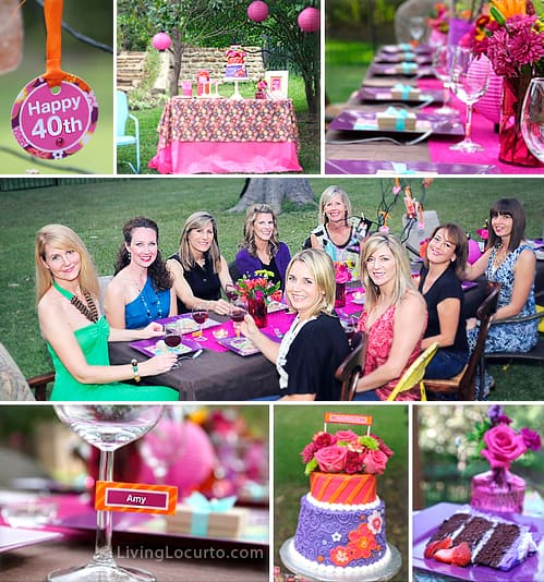 Celebrating For 40th Birthday Party Ideas