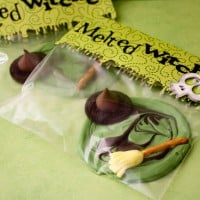 Melted Witches halloween Food