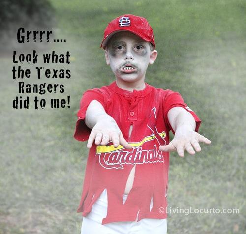 World Series Baseball Player Halloween Costume