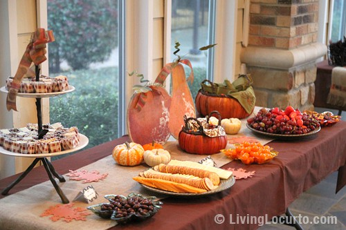 Autum Dessert Table