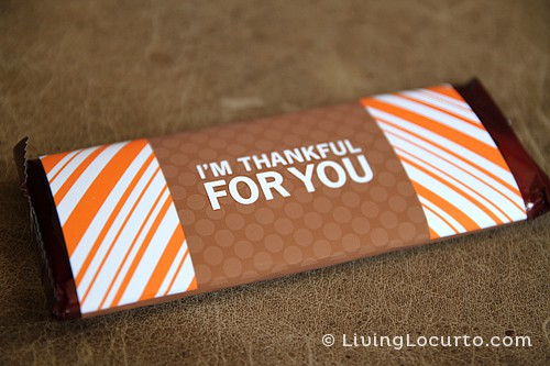 i am thankful wrapper print
