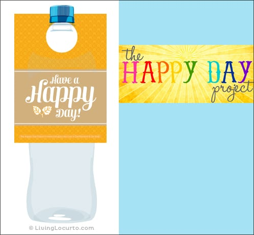 Free Printable - Water Bottle Labels