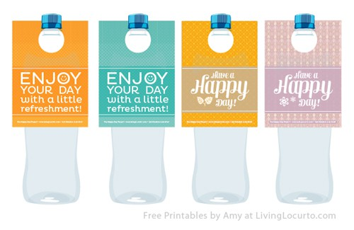 Free Printable Water Bottle Labels - Free printable water bottle label template