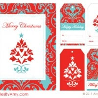 Holiday Printable Party Supplies