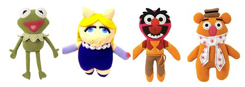 Muppet plush dolls