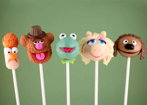 Muppets Cake Pops - Cute Muppet Party Ideas!