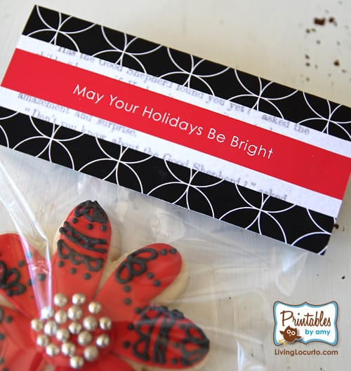 Holiday Gift Tags- Party Printables as seen in Matthew Mead Holiday Magazine