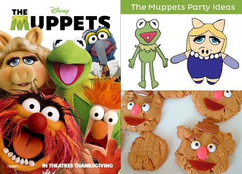 The Muppets Movie Party Ideas - Free Party Printables