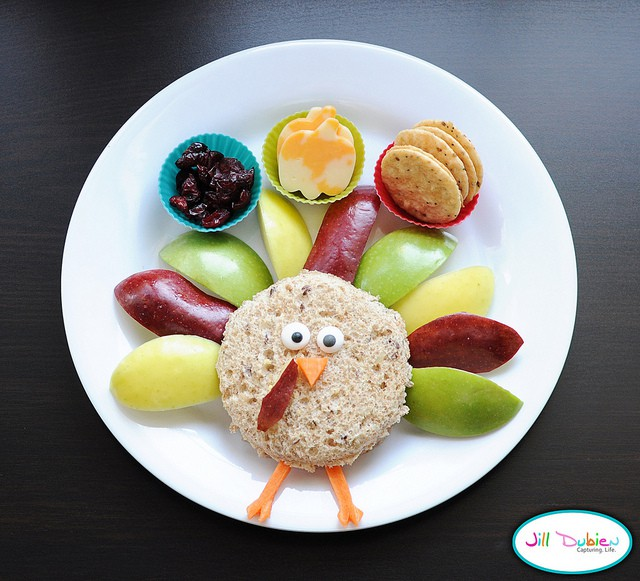 Cornucopia of creativity 10 turkey fun foods for Cool food ideas for kids