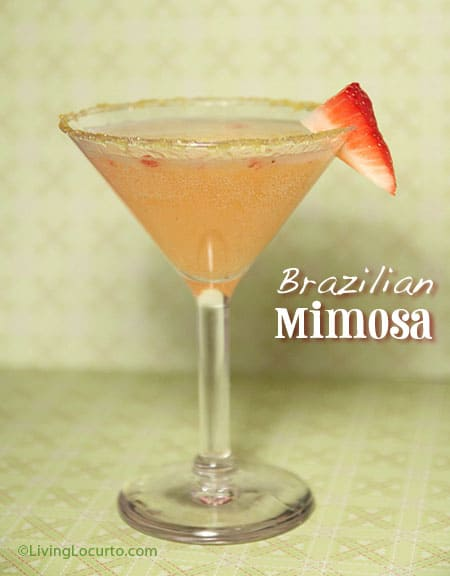 Brazilian Mimosa Cocktail
