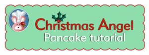 Christmas Angel Pancake Free Printable Tutorial- recipe