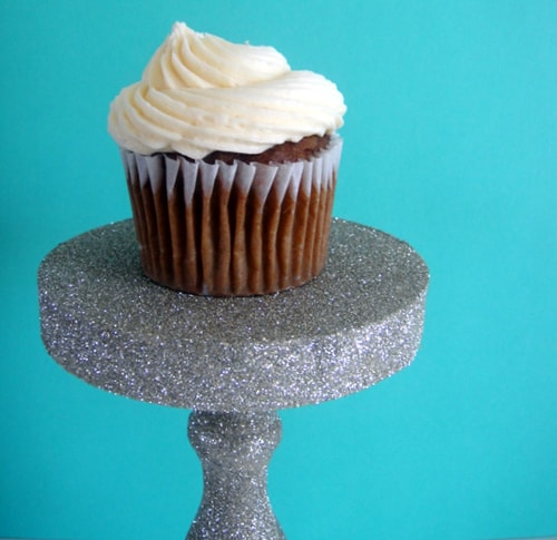 Glitter Cupcake Stand - Party Ideas