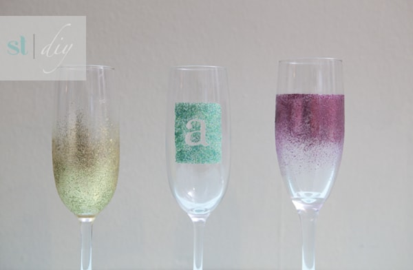 Tip Junkie featured a great DIY craft idea for Champagne