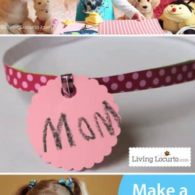 Stuffed Animal Pet Collar Kids Craft