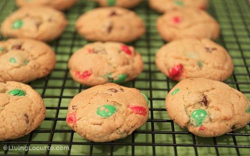 M&M Chocolate Chip Cookie Recipe