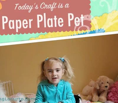 Paper Plate Pet – Craft Show for Kids {Free Coloring Sheets}