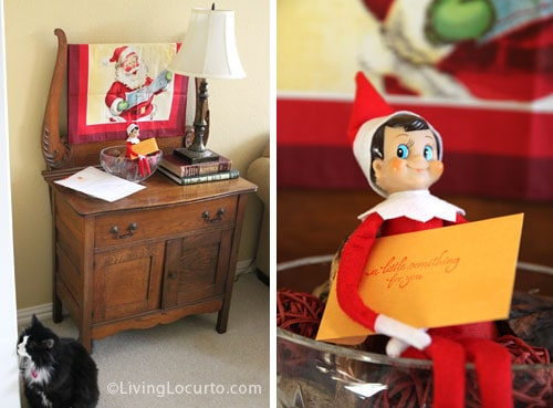 Best idea! Elf on the Shelf Magic Seeds with a Free Printable Letter from Santa. LivingLocurto.com