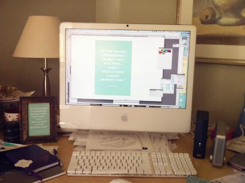 Reality Check - Messy Desk!
