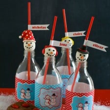 Holiday Snowman Party Collection {Free Printables}