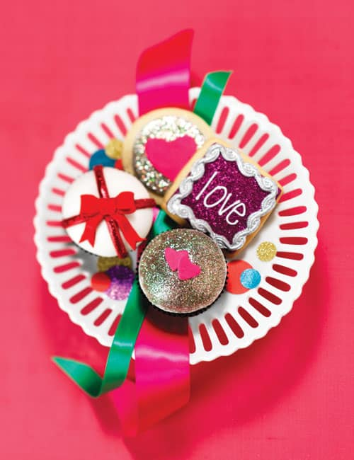 Glitter Cupcakes & Cookies