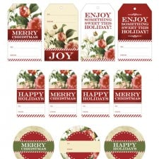 Ree Drummond - The Pioneer Woman Holiday TV Show - Free Printable Gift Tags