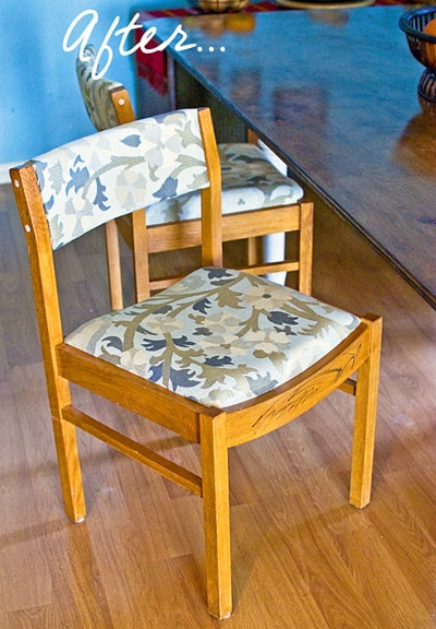 How to Reupholster a Chair {Step-by-Step Photo Tutorial} LivingLocurto.com