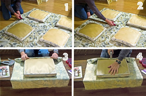 How to Reupholster a Chair {Step-by-Step Tutorial}