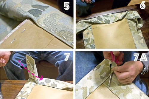 how to reupholster a chair step by step photo tutorial