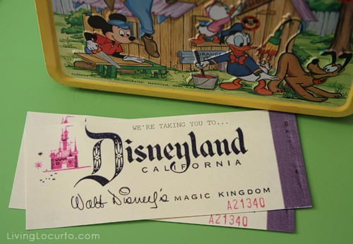Disney Vintage Tickets
