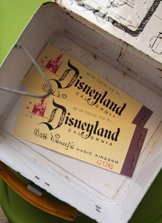 DisneyLand Vintage Tickets