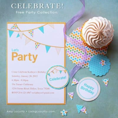 Free Party Printables – Celebrate Collection